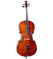 CREMONA SC-130 Premier Novice Cello Outfit 1/2