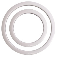 Gibraltar SC-GPHP-4W Port Hole Protector White