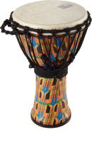 Toca SFDMX-9K Djembe Freestyle Kente Cloth