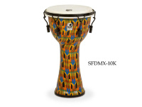 Toca SFDMX-10K Djembe Freestyle Kente Cloth