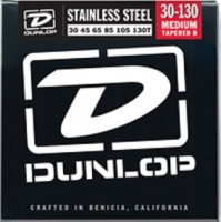 Dunlop DBS Stainless Steel Bass Medium 6 30-130T