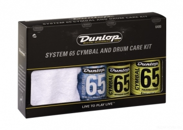 Dunlop 6400 Cymbal and Drum Care Kit -