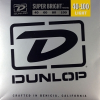 Dunlop DBSBN Super Bright Nickel Wound Bass Light 40-100