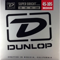 Dunlop DBSBN Super Bright Nickel Wound Bass Medium 45-105