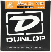 Dunlop DBN Nickel Plated Steel Bass 40-120T 5 Strings