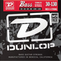 Dunlop DBSBS Super Bright Steel Bass 30-130 6 Strings