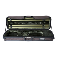 GEWA Strato Deluxe Dark Brown Violin Case 4/4