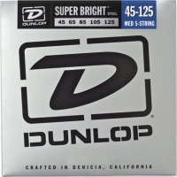 Dunlop DBSBS Super Bright Steel Bass Light 5 45-125