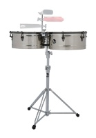 LATIN PERCUSSION TIMBALS E-CLASS STAINLESS STEEL LP1415-EC