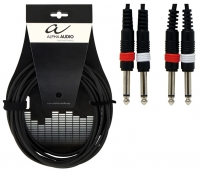 Alpha Audio Basic Line Audio Cable 2 моноджек 6.3 мм - 2 моноджек 6.3 мм 3 м