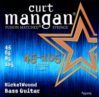 Curt Mangan Nickel Wound Light Bass Set 45-105