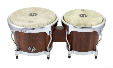 Latin Percussion LPH601-SMC Highline Bongos -
