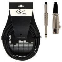 Alpha Audio Basic Line Microphone Cable XLR/Jack 6 м