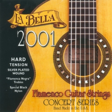 La Bella 2001 Flamenco Hard Tension -
