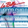 La Bella VSA1152 Vapor Shield Acoustic Custom Light 11-52