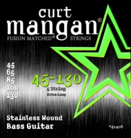 Curt Mangan Stainless Wound 5-String Set 45-130