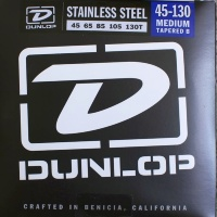 Dunlop DBS Stainless Steel Bass 45-130T 5 Strings