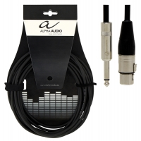 Alpha Audio Pro Line Microphone Cable XLR/Jack 6 м