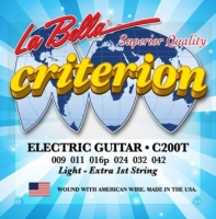 La Bella C200T Criterion Light 9-42