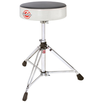 Gibraltar 6608RSW Double Braced Round Drum Throne -