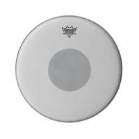 Remo CX-0114-10 Controlled Sound X Coated Black Dot On Top 14''