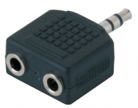 Alpha Audio Adapter 2 TRS(f)/TRS(m) переходник 2 стреоджека 3.5 мм  - стероджек 3.5 мм
