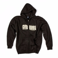 DUNLOP DSD20-MZH-L Cry Baby Men's Zip Hoodie Large