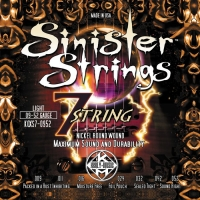 Kerly KQXS7-0952 Sinister 7 Strings Nickel Tempered
