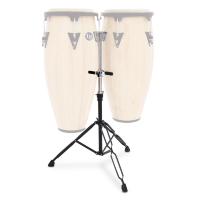 Latin Percussion LPA653 Aspire Slide Double Conga Stand