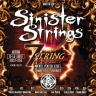 Kerly KQXS7-1056 Sinister 7 Strings Nickel Tempered