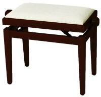 GEWA FX Piano Bench Cherry Tree Matt Beige Seat