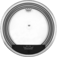 Remo PW-1324-00 Powersonic Bass Clear 24