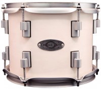 Drumcraft Series 8 Maple Venice White Satin Chrome HW