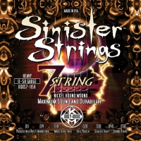 Kerly KQXS7-1158 Sinister 7 Strings Nickel Tempered