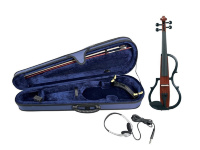 GEWA E-Violine line Red brown