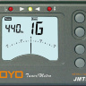 Joyo JMT-9000B Tuner and Metronome