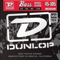 Dunlop DBN Nickel Plated Steel Medium 45-105