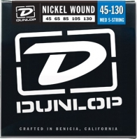Dunlop DBN Nickel Plated Steel Bass Medium 5-130 45-130