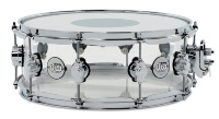 "DRUM WORKSHOP SNARE DRUM DESIGN ACRYLIC 14x5,5"" Clear"
