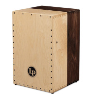 Latin Percussion LP1422 Americana Solid Walnut/Maple 2-Voice Cajon