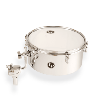 Latin Percussion LP812-C Drum Set Chrome Timbale 12x5.5""