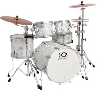 Drumcraft Series 7 Progressive Liquid Chrome Satin Chrome HW