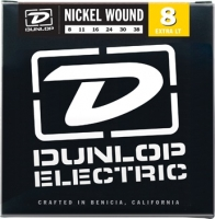 Dunlop DEN Nickel Plated Steel Extra light 08-38