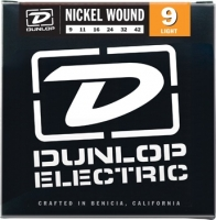 Dunlop DEN Nickel Plated Steel Light 09-42