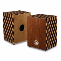 Latin Percussion LP8800B Peruvian Solid Wood Cajon