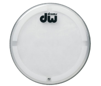 DRUM WORKSHOP BASS DRUM HEAD COATED CLEAR CC-20K