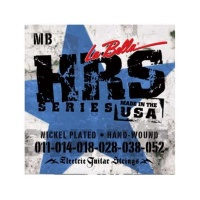 La Bella HRS-MB Nickel Rounds Medium Blues 11-52