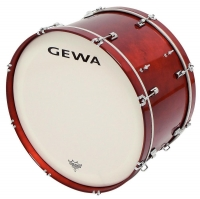 "GEWA Marching Bass Drum 26x14"" Red"