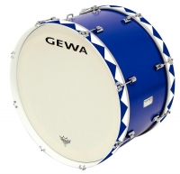 "GEWA Marching Bass Drum 26x14"" Blue"