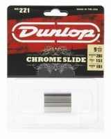 Dunlop 221 Chromed Steel Medium Medium Knuckle
